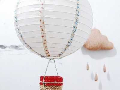 热气球制作 超可爱的热气球手工制作图解教程