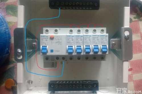 家用电安装图 家庭配电箱接线图解