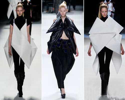 折纸服装设计 那些美呆的服装设计