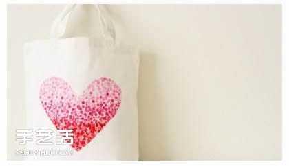 手绘包 简单手绘手提袋制作教程