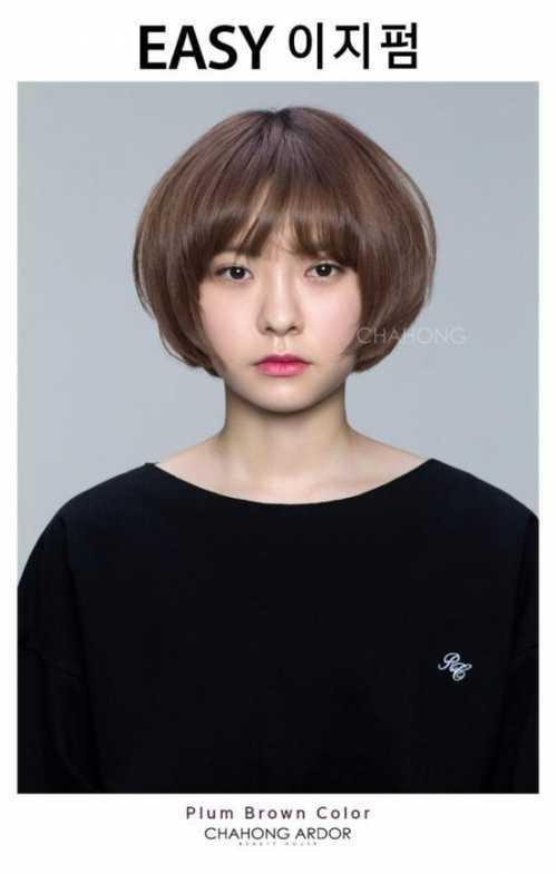 韩国最新流行发型 2017年最流行的韩系发型全在这了