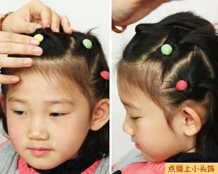 小孩子的编头发怎么编 给宝宝扎各种各样的小辫子—发型大集合