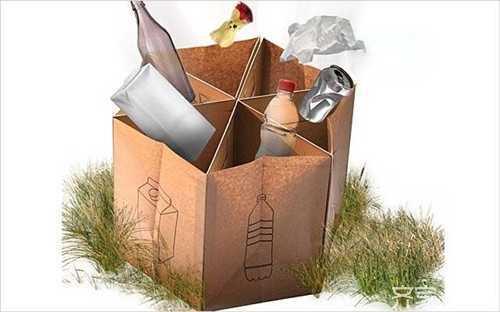 手工折纸垃圾桶 推荐2种纸质垃圾桶的折法
