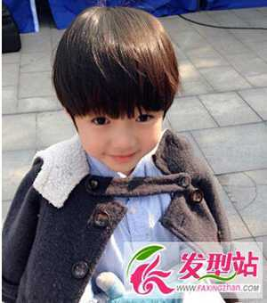 儿童男孩发型 小男孩流行发型图片大集合图片