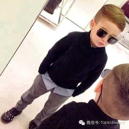 小男孩最耍酷的发型,看完你一定恨不得马上有个男宝宝.