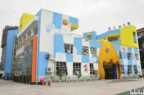 幼儿园大门效果图 私立幼儿园创意大门造型装饰图片