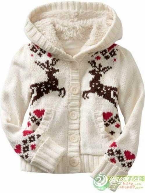 毛衣编织款式 儿童毛衣编织花样5000女孩毛衣款式图第