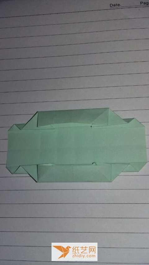 教师节手工礼物 折纸礼物包装盒的制作教程